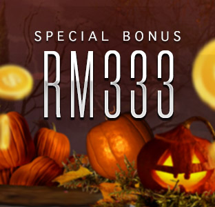 Deposit MYR 300 FREE MYR33